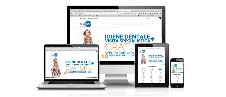 sunmed group sito web